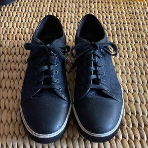 Lanvin dark blue sneakers